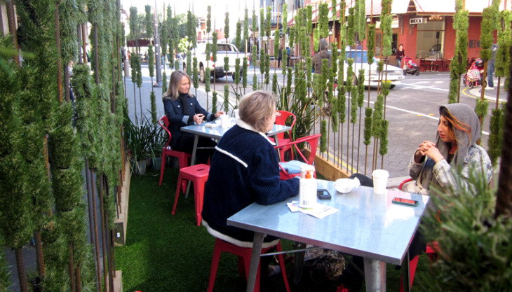 Ecoscape organises successful<br>PARK(ing) Day 2013 in Fremantle
