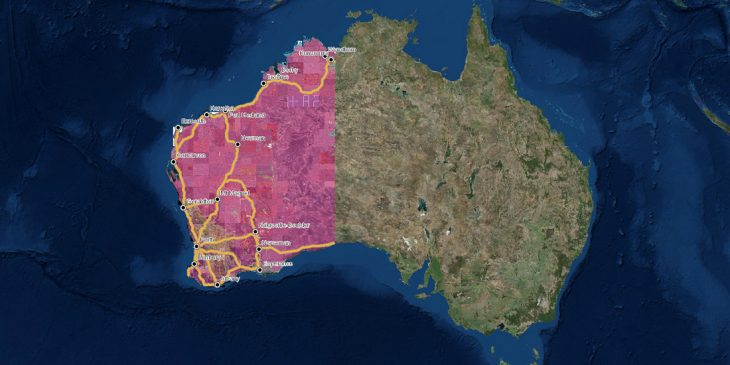 DFES Releases Updated Map of Bush Fire Prone Areas of WA