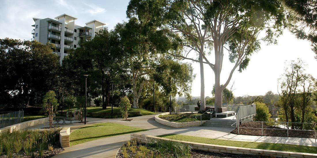 bilya kard boodja lookout public park designers landscape
