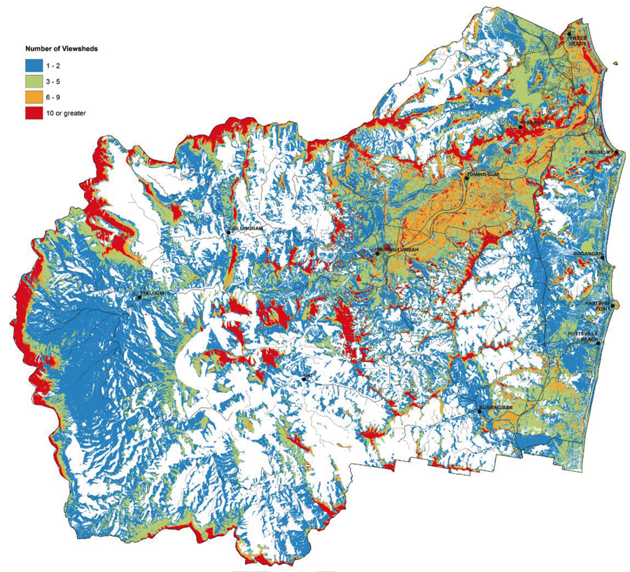 Tweed Shire Council Scenic Landscape Mapping